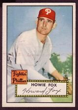 1952 TOPPS HOWIE FOX CARD NO:209 EXMINT