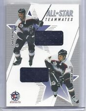 2002-03 BAP MEMORABILIA PRONGER/AMONTE ALL STAR JERSEY
