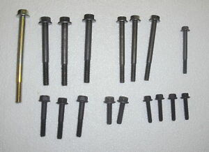 1965 Cadillac Timing Cover, Water Pump SPECIAL BOLTS