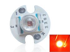 Cree XR-E Q5 Red 620nm-625nm High Power LED Light 16mm for Torch Lamp Bulb 10pcs