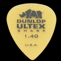 Dunlop Ultex Sharp Guitar Picks Plectrums 1.40mm - In Packs Of 6 10 12 20 24 36