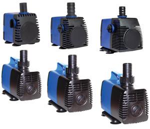 160-1600 GPH Adjustable Submersible Water Pump Aquarium Pond Fountain Hydroponic