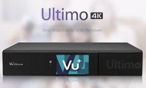 Vu+ Ultimo 4K Satellite Receiver - 2 x Twin FBC DVB-S2, 1 x Twin DVB-T/T2/C, 1TB