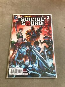 NEW SUICIDE SQUAD 1. NM- COND. OCT 2014.  NM. DC. 2014 SERIES.