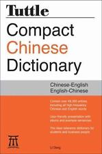 Tuttle Compact Chinese Dictionary by Li Dong (2016, Paperback)