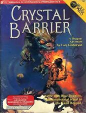 CRYSTAL BARRIER #741 SEALED NEW Module Dungeons Dragons AD&D D&D Role Aids TSR