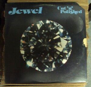 JEWEL Cut 'N' Polished LP OOP RARE early-80's funk promo Erect