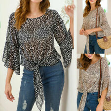 3/4 Sleeve Blouses Holiday Tops & Shirts for Women