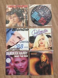 "EX Condition Adam Ant + Debbie Harry / Blondie Vinyl 7"" Single Records"