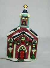 Trim A Home Holiday Memories Lighted Church Original Box