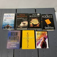 Lot Set of 7 Dean Koontz Hardcover books Brother Odd Hours Velocity The Good Guy