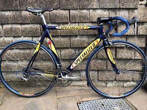 2001 Specialized S Works M4 Team Festina 58cm Road Bike 18spd Ultegra Groupset