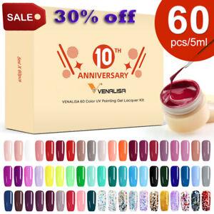 Venalisa Canni Drawing Polish Gel UV LED Nail Painting Soak Off 180 Ink Color