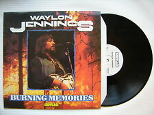 Waylon Jennings - Burning Souvenirs, Showcase SHLP-107 Excellent Etat vinyle LP