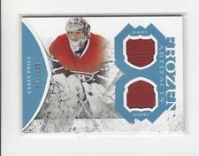 2011-12 Artifacts Frozen Artifacts Blue Carey Price JERSEY Canadiens /135