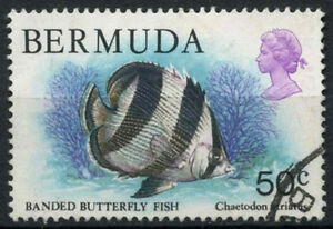 Bermuda 1978-1983 SG#399, 50c Wildlife, Fish, Definitive Used #D22408