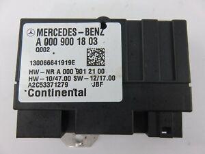 A0009001803 Mercedes Benz C M CLS Class Fuel Pump Control Module Unit 2013