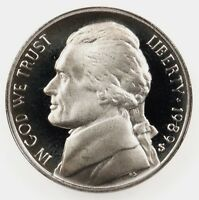 1989-S Proof Jefferson Nickel Full Steps Nice Coins Priced Right Shipped FREE