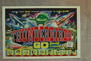 Thunderbirds Are Go Lobby Card Movie Poster