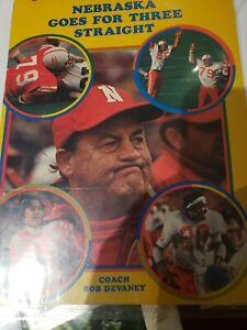 Nebraska Huskers Bob Devaney Signed Autographed Magazine cover only