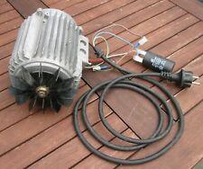 Elektromotor mit Kondensator und Stecker 220V 50 Hz, 1000W betriebsfertig