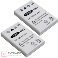2Pcs EN-EL19 700mAH Recargable Li-Ion Batería Para Cámara Nikon Coolpix