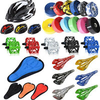 Bicycle Cycle Saddle Seats Pad Platform Pedals Handle Bar Tape Wrap Accessories
