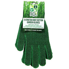 2 X Pairs Unisex Mens Garden Gloves General Working Rubber Strong EasyGrip Green