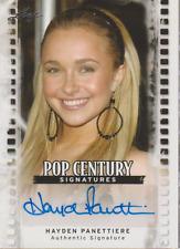 Hayden Panettiere 2011 Leaf Pop Century autograph auto card BA-HP1