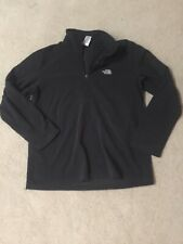 The North Face Black 1/4 Zip Shirt Size L