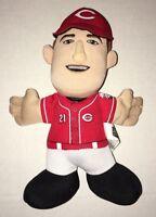 """Todd Frazier Stuffed Plush 7"""" Doll SGA Coke Reds Rare Cincinnati Coca Cola Promo"""