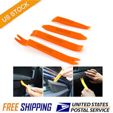 4PCs Car Door Trim Removal Tool Pry Panel Dash Radio Body Clip Installer Kit