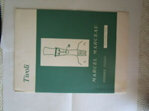 Program 1962 portugal Marcel Marceau