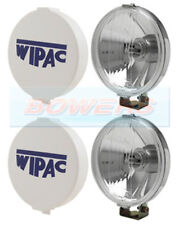 """Wipac S6007 5 1/2"""" Chrome Halogen Driving Spot Lamps (1 X Pair )"""