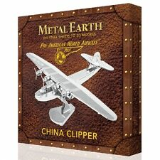 Pan Am China Clipper Box Version Metal Earth 3D Model Kit FASCINATIONS