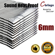 19.3sq.ft Roll Auto Trunk Boot Sound Noise Deadener Heat Reducing Mat Waterproof