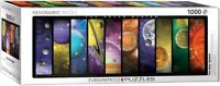 Eurographics Panoramic Jigsaw Puzzle THE SOLAR SYSTEM Planets - 1000 Pieces