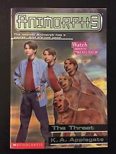 Animorphs: The Threat No. 21 by K. A. Applegate (1998, Paperback)