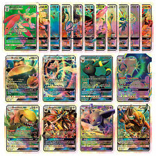 20Pcs/Lot Pokemon GX Cards English TCG Trading Flash Sun&Moon Charizard Venusaur