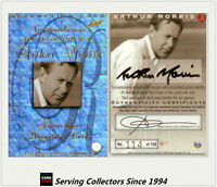 RARE--1998/99 Select Cricket Ashes Heroes Signature Card HS12: Arthur Morris