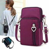 Women Ladies Mobile Phone Bag Case Pouch Cross Body Purse Small Shoulder Bag Hot