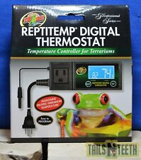 Zoo Med ReptiTemp Digital Thermostat RT-600 - Temperature Control for Terrariums