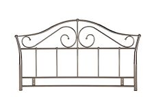 5ft Kingsize Metal Headboard in Black Nickel (Smoked chrome) finish BRAND NEW