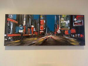 Paul Kenton - New York 'Life in the Fast Lane' Boxed Canvas Print