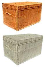Weidenkorb Truhe Korbwaren Ecru /Natürliches Produkt aus Polen 100cm 80 cm 60cm