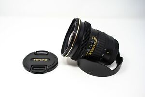 Tokina AT-X 11-20mm f/2.8 PRO DX Lens for Canon EF Mount Focus Gear for Video