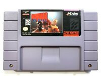 Foreman for Real SUPER NINTENDO SNES GAME Tested + Working & Authentic!