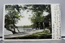 Michigan MI Lakes Pontiac Postcard Old Vintage Card View Standard Souvenir Post