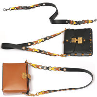 Womens Replacement Chain Purse Shoulder Strap Faux Leather for Crossbody Bag New