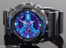 GA-110HC-1A Blue Black Casio Watch G-Shock 200M Analog Digital New Resin Band